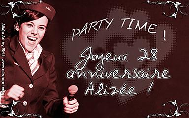 Party Time ! Joyeux 28 anniversaire ! - click for information & download options