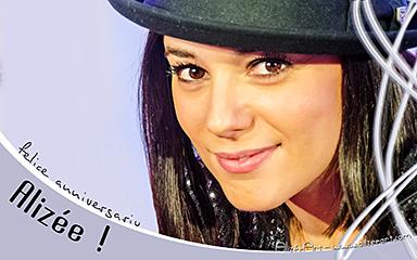Felice anniversariu, Alizée ! - click for information & download options
