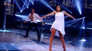 Alizée & Grégoire Lyonnet dancing Rumba