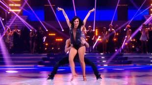 Alizée & Grégoire dancing samba relay
