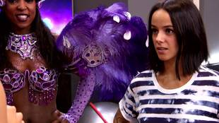 Alizée's interview before charleston