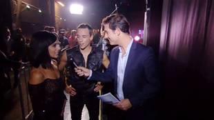 Alizée's interview after tango