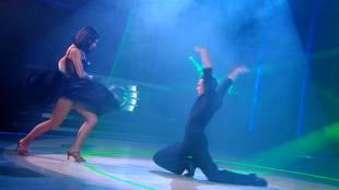 Alizée & Grégoire Lyonnet dancing flamenco