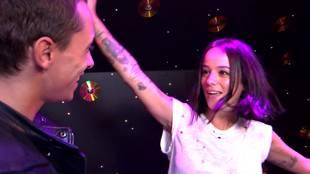 Alizée's interview before flamenco