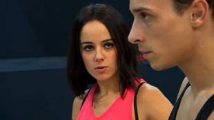 Alizée wants to perfect her dances for the prime show