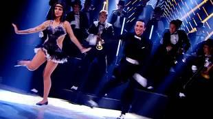 Alizée & Grégoire Lyonnet dancing charleston