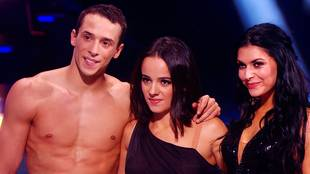 Scores & critics for Alizée's, Grégoire's & Candice's rumba trio
