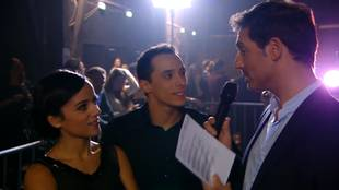 Week 8 - Interview on backstage after Jive