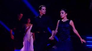Alizée & Grégoire Lyonnet dancing Foxtrot