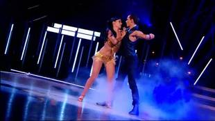 Alizée dancing Cha-Cha-Cha