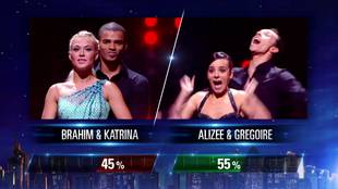 The results for Brahim vs. Alizée