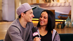 Interview of Alizée & Grégoire for dance trio on Season 7