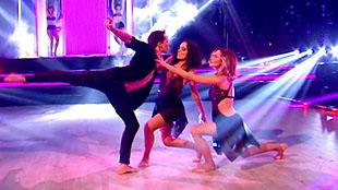 Alizée, Grégoire & Camille dancing rumba trio