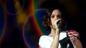 Alizée on Psychédélices Tour in Monterrey, México