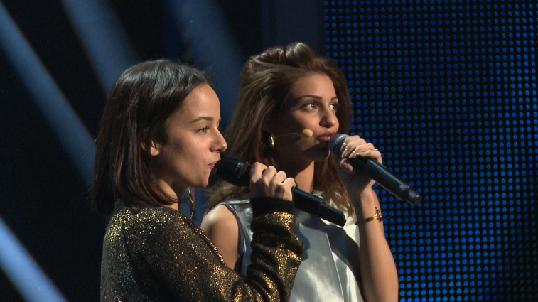 Alizée with Tal at NMA