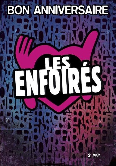 Cover of Les Enfoirés DVD