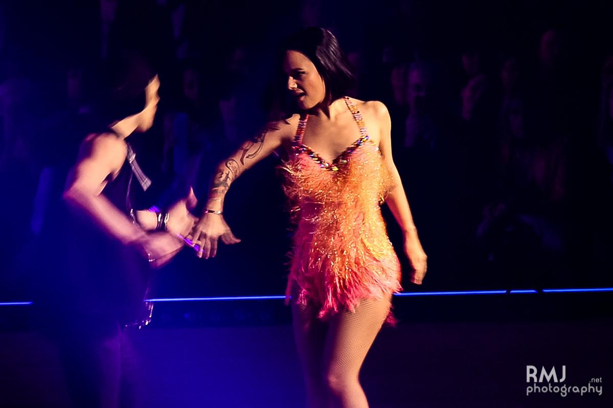 Alizée & Grégoire dancing jive