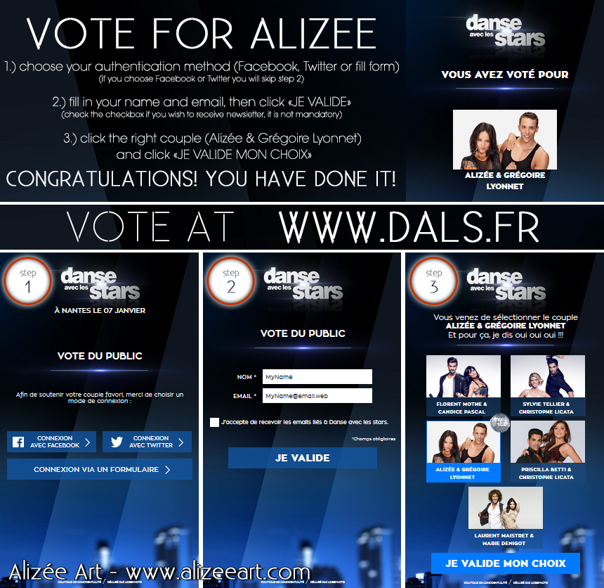 Voting for DALS Tour 2017